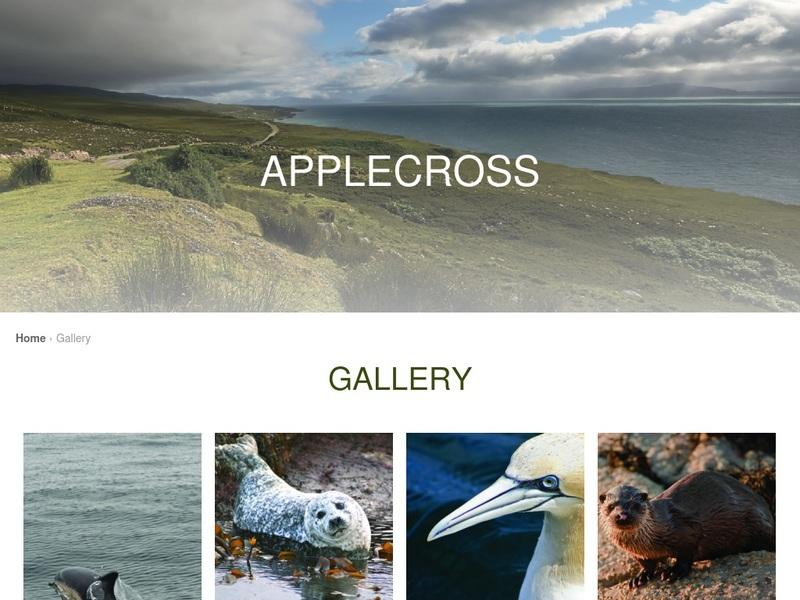 Screenshot von http://applecross.org.uk/gallery